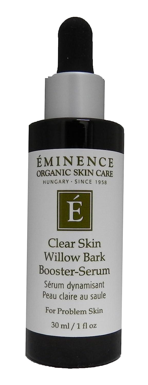 Eminence Organic Clear Skin Willow Bark Booster Serum, 1 Ounce