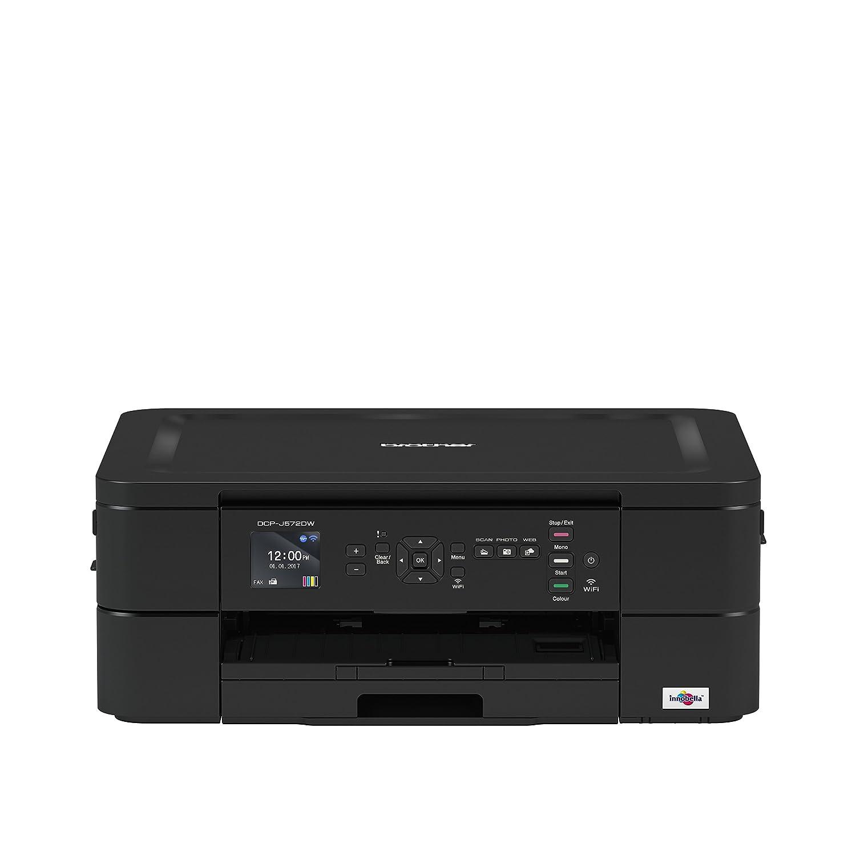 Brother dcp-j572dw –  Attrezzi Multifunzione di inchiostro, A4, Wi-Fi, Stampa Duplex), colore: nero Brother dcp-j572dw-Attrezzi Multifunzione di inchiostro