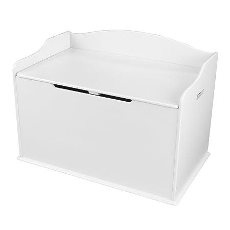 Kid Kraft Austin Toy Box, White by Kid Kraft