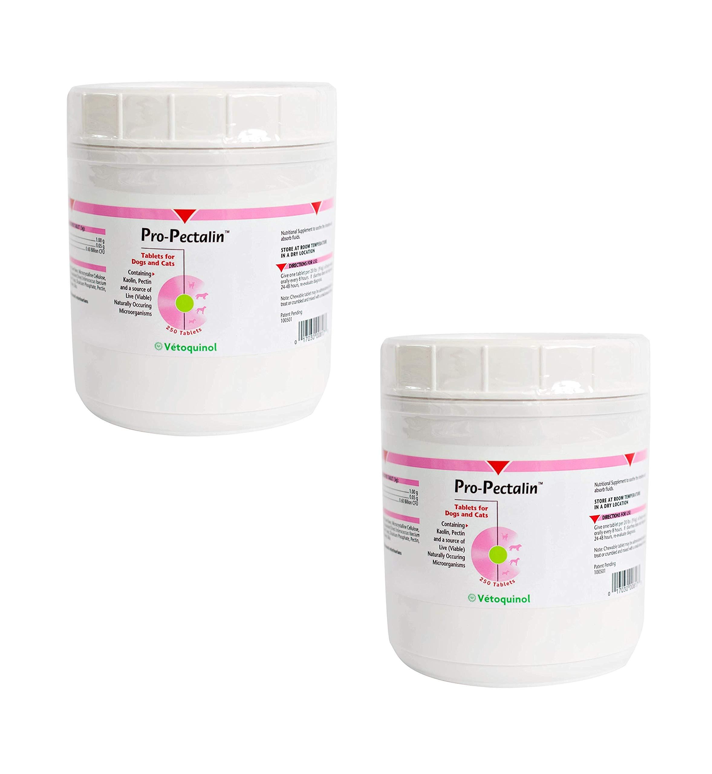 Vetoquinol 410817 Pro-Pectalin,250 ct (2 Pack)
