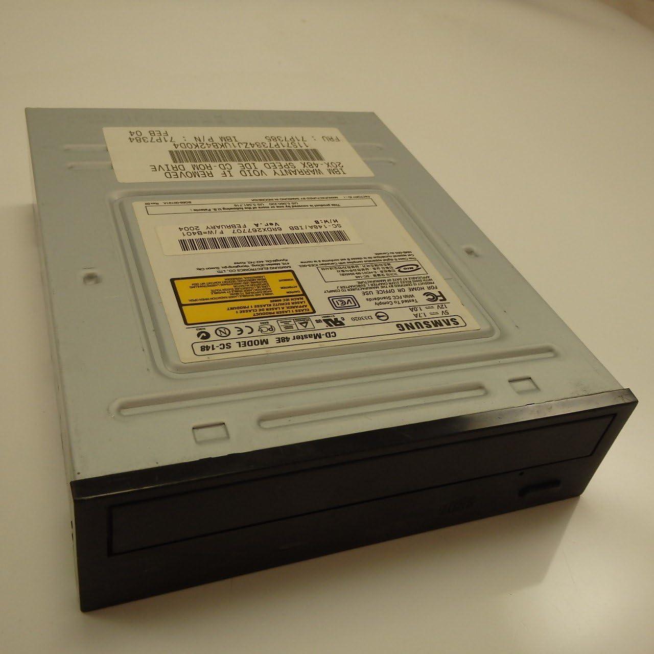 IBM 71P7385 FRU 48x CD-ROM Drive Black W//O Jack and Volume