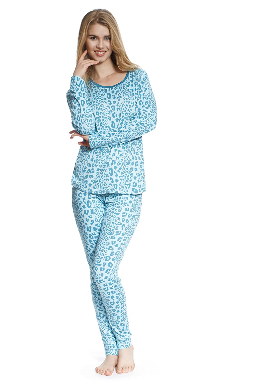 Jones New York Women's Leopard Print Pajamas