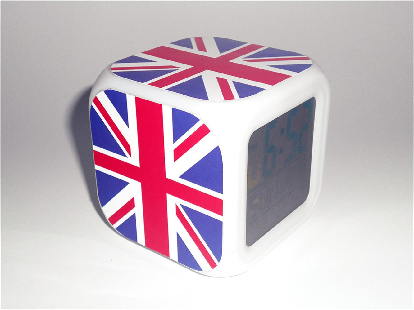 Boyan LED Alarma Reloj Inglaterra Reino Unido Unión Jack ...