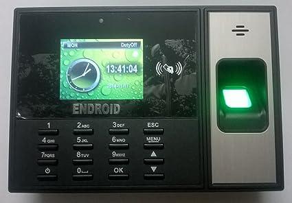 Endroid Digitek DTK-402 Biometric Time Attendance Device