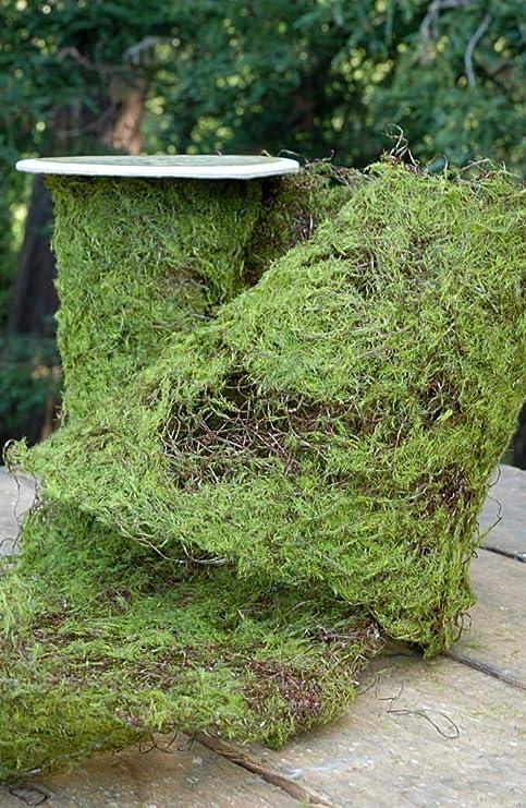Richland Sheet Moss Roll Artificial 6 Width X 36 Amazon Co Uk