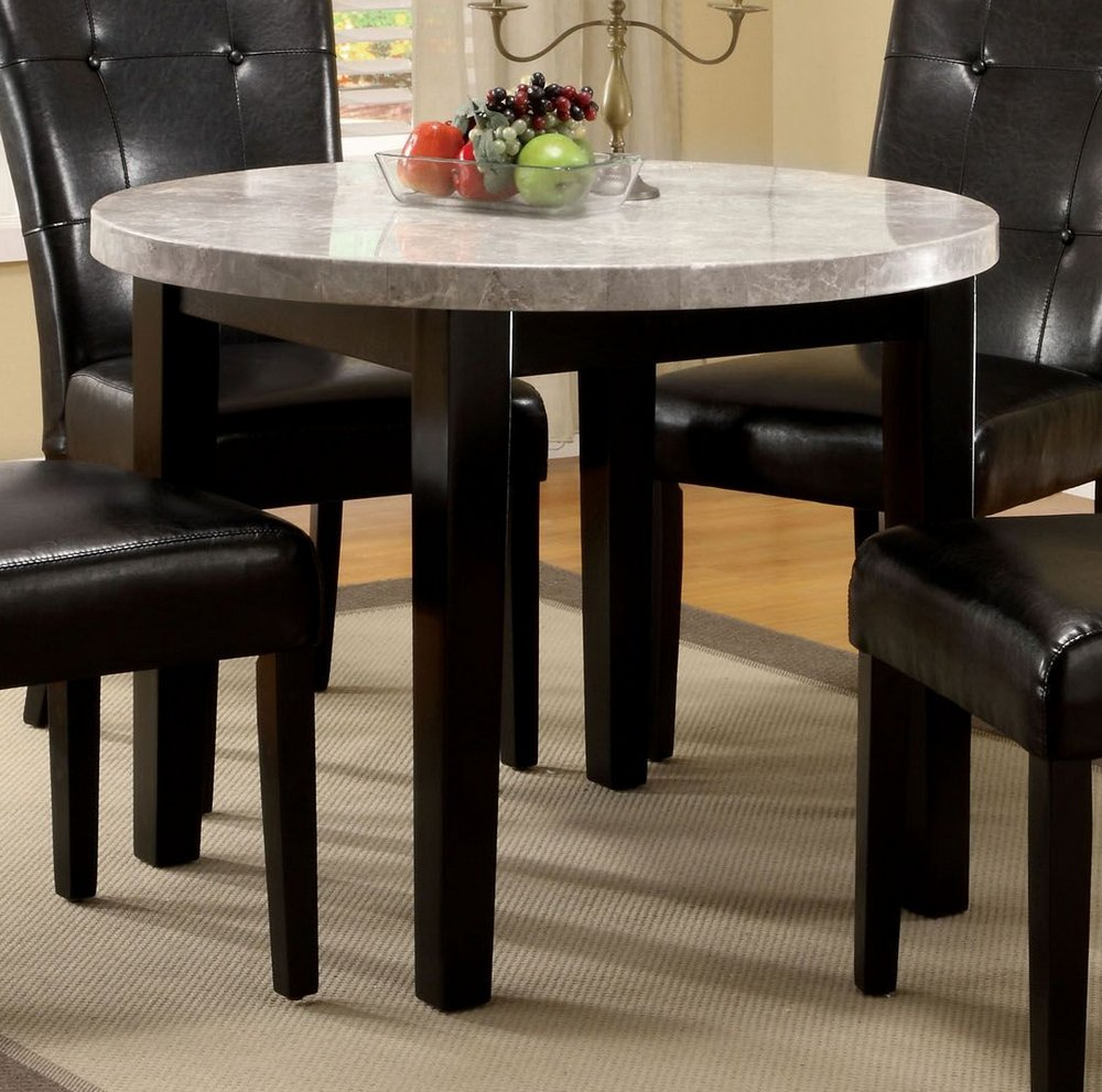 William s Home Furnishing CM3866RT-40 Marion I Dining Table, Espresso