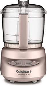 Cuisinart DLC-2APCH Mini-Prep Plus Food Processor, Pink Champagne