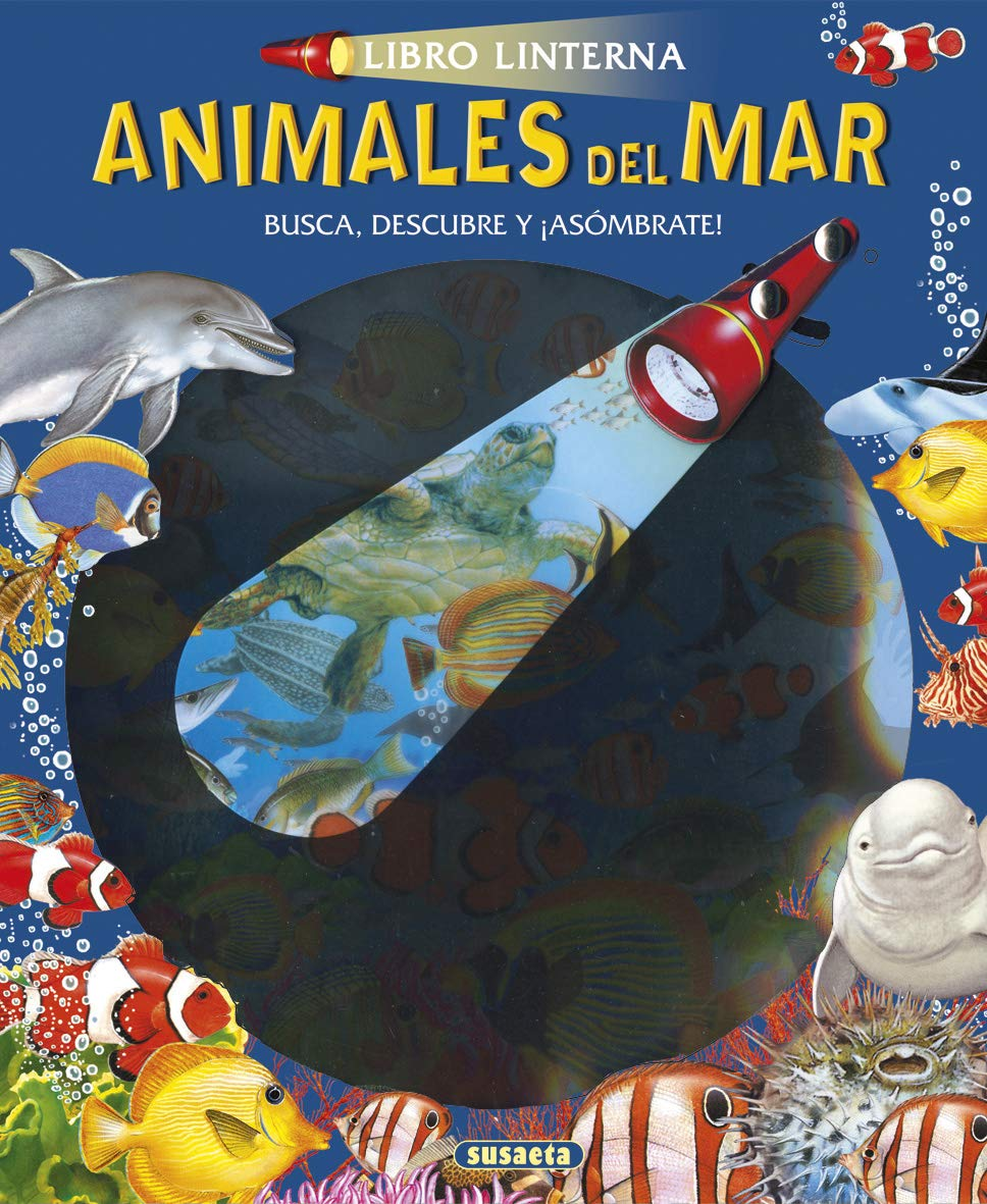 Animales Del Mar (Libro linterna): Amazon.es: Equipo Susaeta, F ...