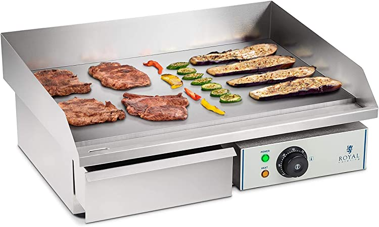 Royal Catering Plancha Grill Electrica Fry Top Parrilla Electrica ...