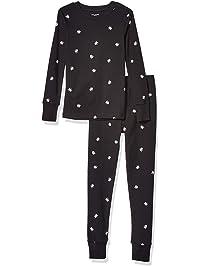 Amazon Essentials Boys' Long-Sleeve Tight-fit 2-Piece Pajama Set