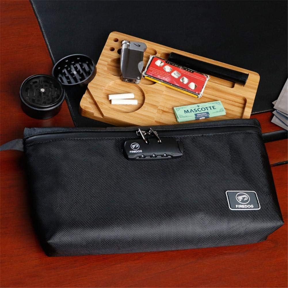 Bolsa de Desodorante de Almacenamiento con Cierre de contrase/ña sin olores y sin Olor de carb/ón Activo Multifuncional iB/àste Bolsa de la Compra para Viajes