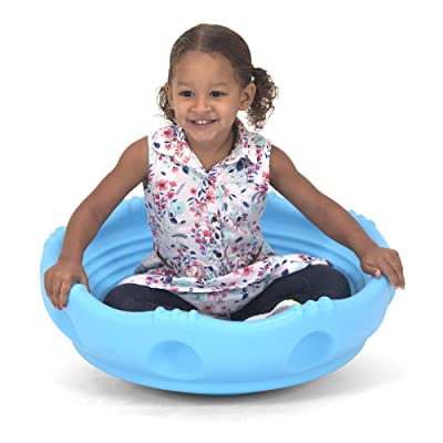Simplay3 Rock Around Wobble Disk - Spin Climb Saucer for Children: Toys & Games
