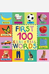 Kids Books: First 100 Essential Words: Childrens Books - Kids Books - Baby Book - Toddler Book - Childrens Book - Kids Book - Books For Kids - Baby Books - Kid Book - 100 Words - Word Book Kindle Edition