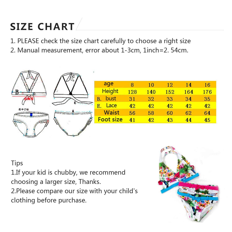 d4731b75b IPBEN Conjuntos bebé Bañador bebé Bañadores de Verano para Niñas Tassel  Conjunto de Bikini Traje de. Ampliar imagen