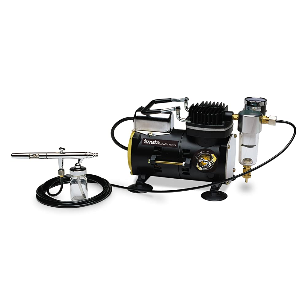 Iwata-Medea Studio Series Sprint Jet Single Piston Air Compressor Review