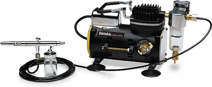 Amazon.com: Compresor de aire Iwata-Medea Studio Series con ...