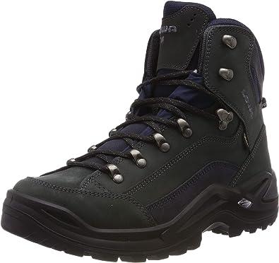 Details about  /Lowa Renegade Mid GTX Gore-tex Boots Man Deep Black