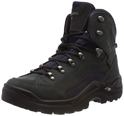 624e782ad82 Lowa Renegade GTX Mid Chaussures d escalade pour Homme - - Dunkelgrau Navy