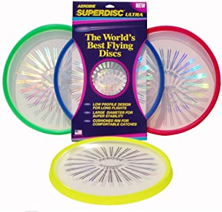 product image for Aerobie 26R12 Superdisc ULTRA Outdoor Flying Disc - Colors May Vary