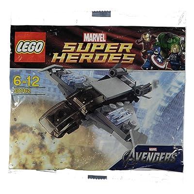LEGO Marvel Superheroes Quinjet #30162: Toys & Games [5Bkhe1805441]