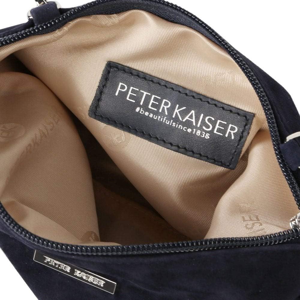 Peter Kaiser Waida Womens Clutch Bag Navy (Notte) Suede