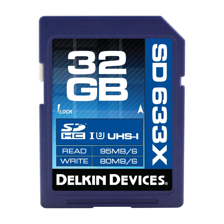 Delkin 16 GB Elite 633X SDHC UHS-I Memory Card (DDSDELITE633-16GB)