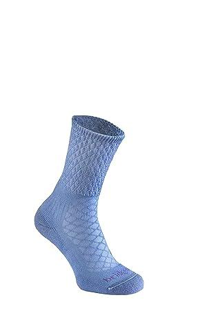 ad5bed7ada0aa Bridgedale Women's Hike Lightweight Merino Endurance Boot Original Socks,  Powder Blue, Small
