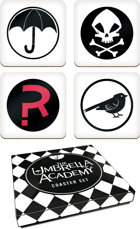 Dark Horse Comics The Umbrella Academy Coasters Set de 4 símbolos ...