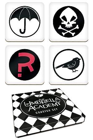 Dark Horse Comics The Umbrella Academy Coasters Set de 4 ...