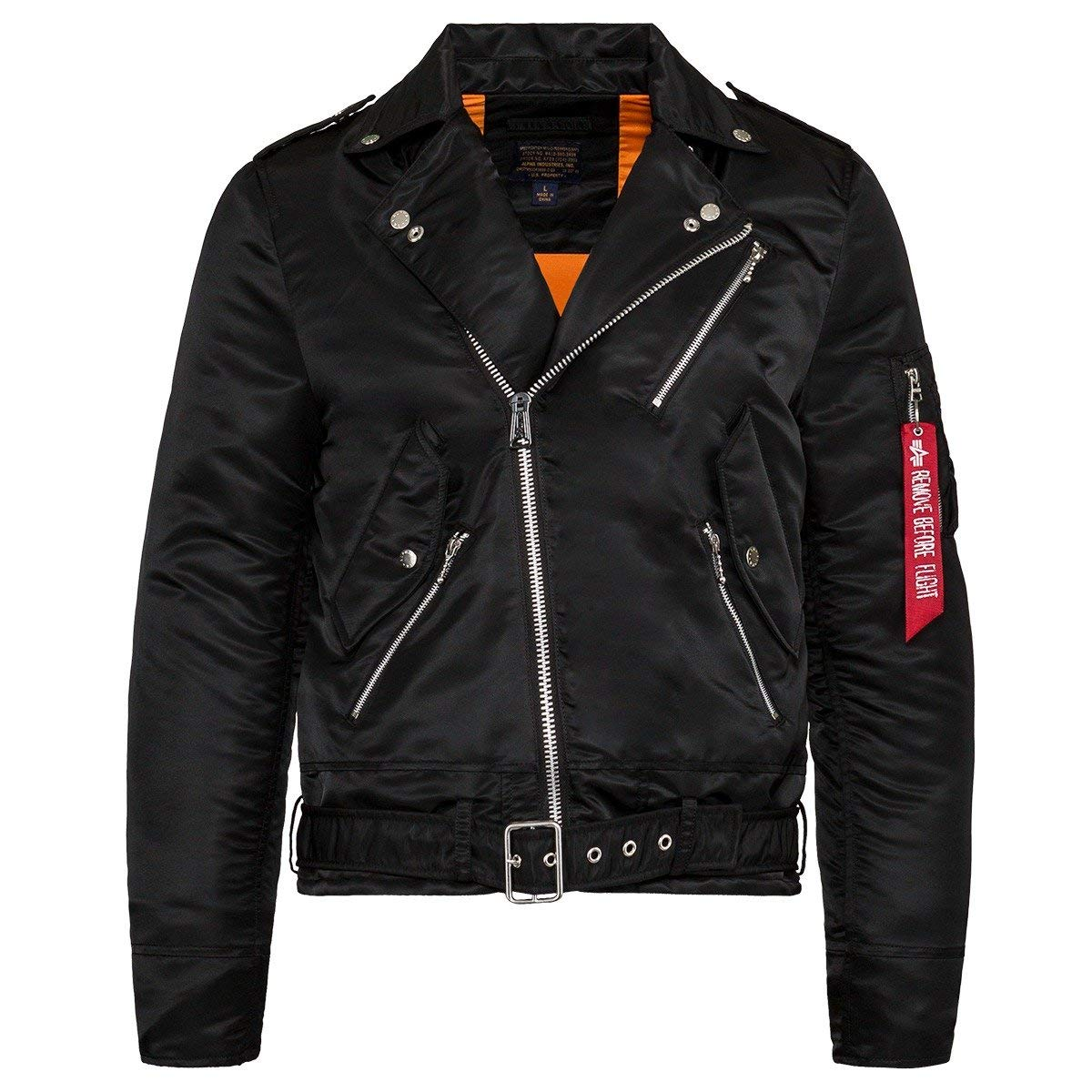 Amazon.com: Alpha Industries para hombre Outlaw Biker ...