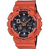 G-Shock GA-100 Military Series Watches - Orange/One Size