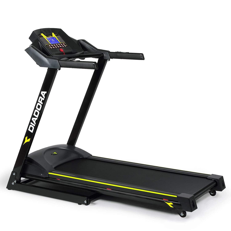 Diadora Fitness - Cinta de correr - Modelo Edge 2.6 - Color negro ...