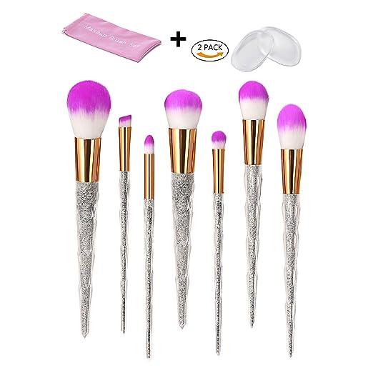 1 opinioni per 2570/5000 7Pcs Make Up Brushes Set di