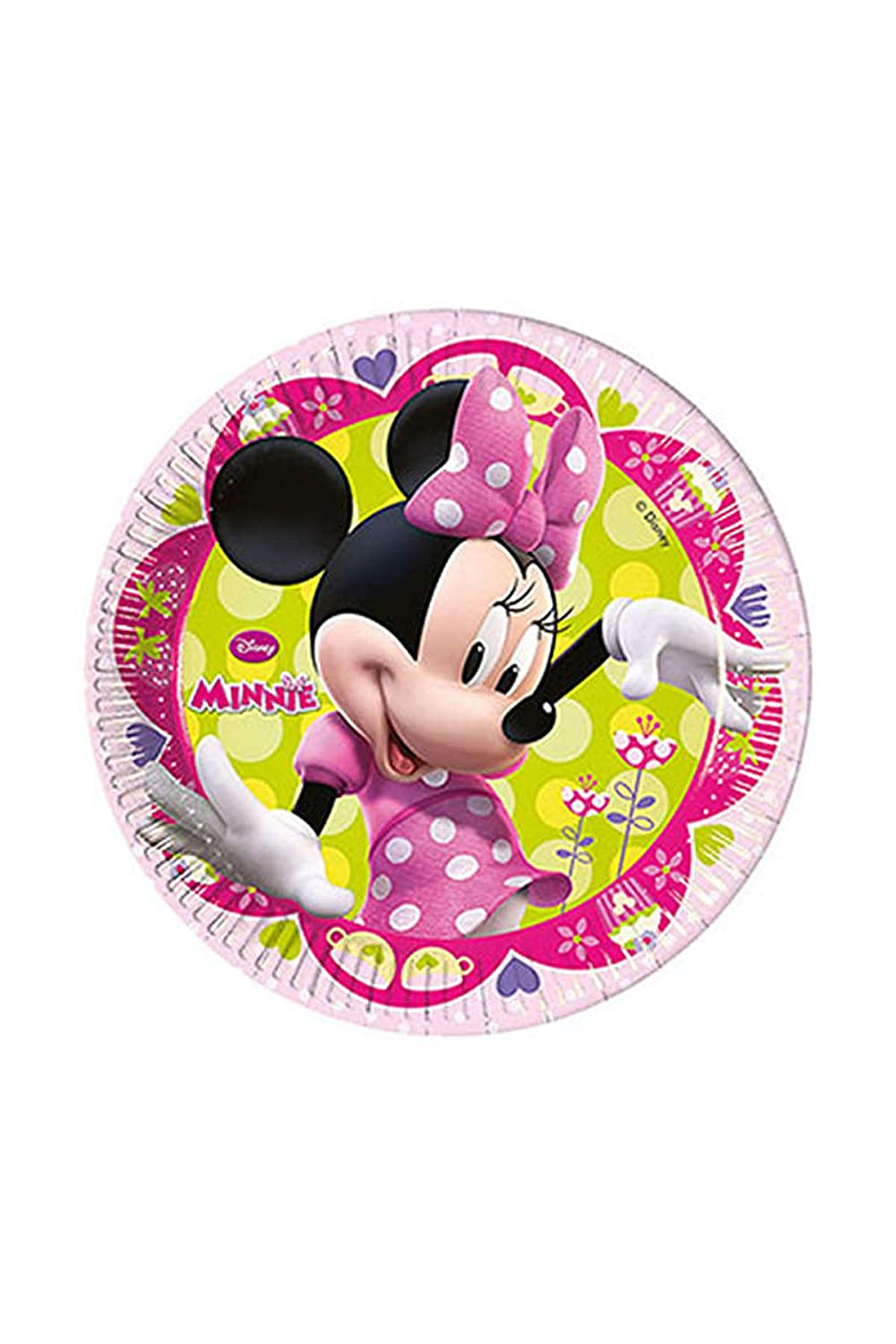 Amazon.com: Amscan – Minnie – Platos de papel para fiestas ...