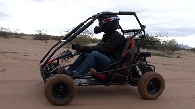 Coleman Powersports 196cc//6.5HP Coleman KT196 Gas Powered Off Road go Kart