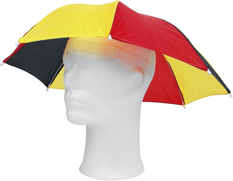 Genérico - Paraguas-Sombrero Bandera de Alemania: Amazon.es: Hogar