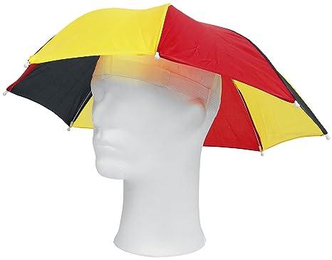 Genérico - Paraguas-sombrero bandera de alemania