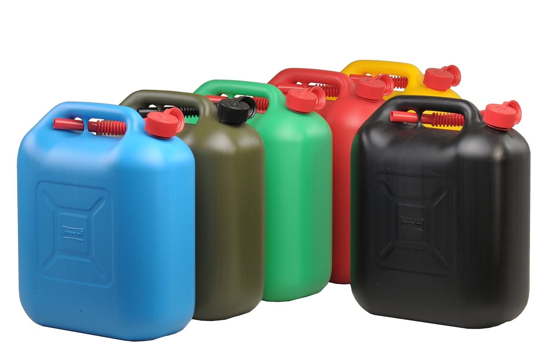 Kraftstoff-Kanister STANDARD 5l f/ür Benzin T/ÜV-gepr/üfter Produktion Diesel und andere Gefahrg/üter UN-Zulassung made in Germany rot