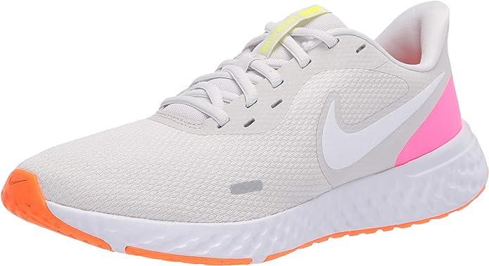 Nike Wmns Revolution 5, Zapatilla De Correr para Mujer, Platinum ...