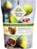 ORGANIC Rehydrated Dried Smyrna Figs - Sunny Fruit - 40oz Bulk Bag | Tender & Juicy - NO Added Sugars, Sulfurs or…