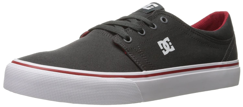 DC Men's Trase TX Unisex Skate Shoe B00L9DT0H6 8 B(M) US|Dark Shadow