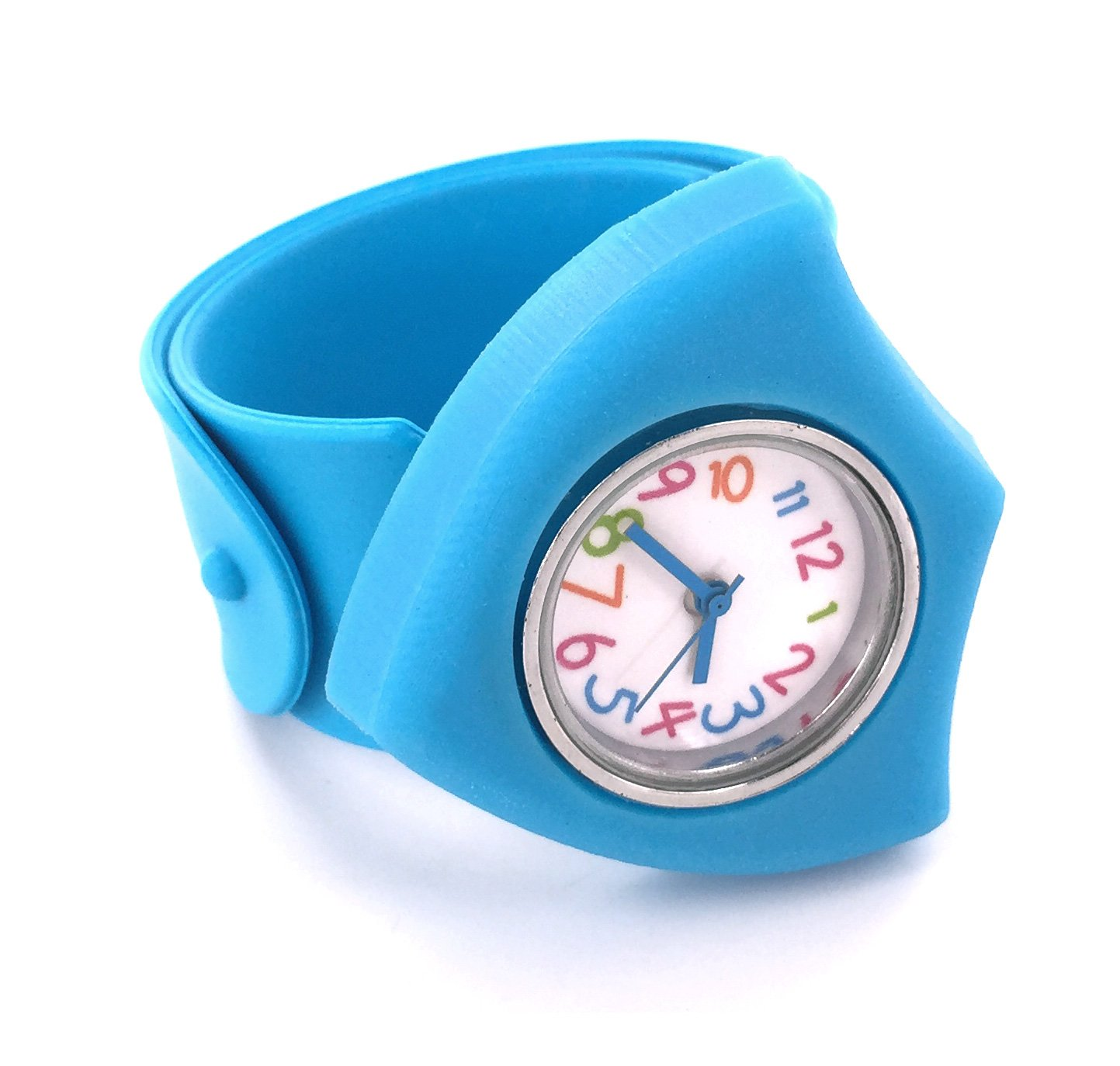 Silicone CTR Shield Slap Watch - Blue - Choose the Right