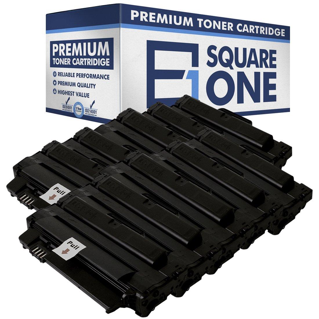 esquareone互換高トナーカートリッジ交換for Dell 2 MMJP 330 – 9523 | 7h53 W 593 – 10961 (ブラック) 10 Pack ブラック B075PY4152   10 Pack