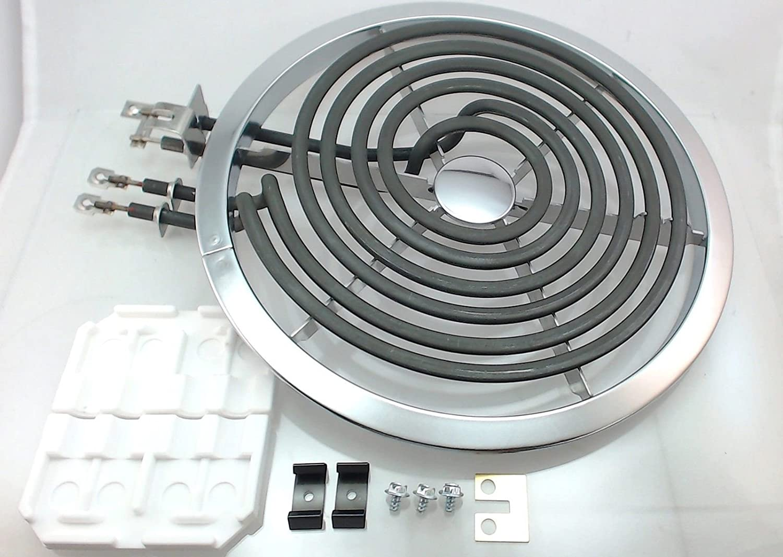 General Electric RCA Electric Range Cooktop Stove 8 Large Surface Burner Element