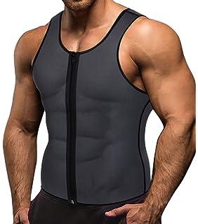 Herrenbekleidung & Zubehör Männer Neopren Weste Sauna Ultra Dünne Sweat Shirt Körper Shaper Abnehmen Korsett Baumwolle Tanks Oberteile Und T-shirts