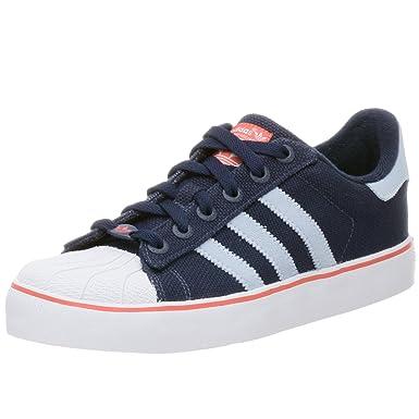 adidas Originals Men\u0027s Superstar 2 Vulcanized Sneaker,Dk Ind/LtBlu/Call,9.5