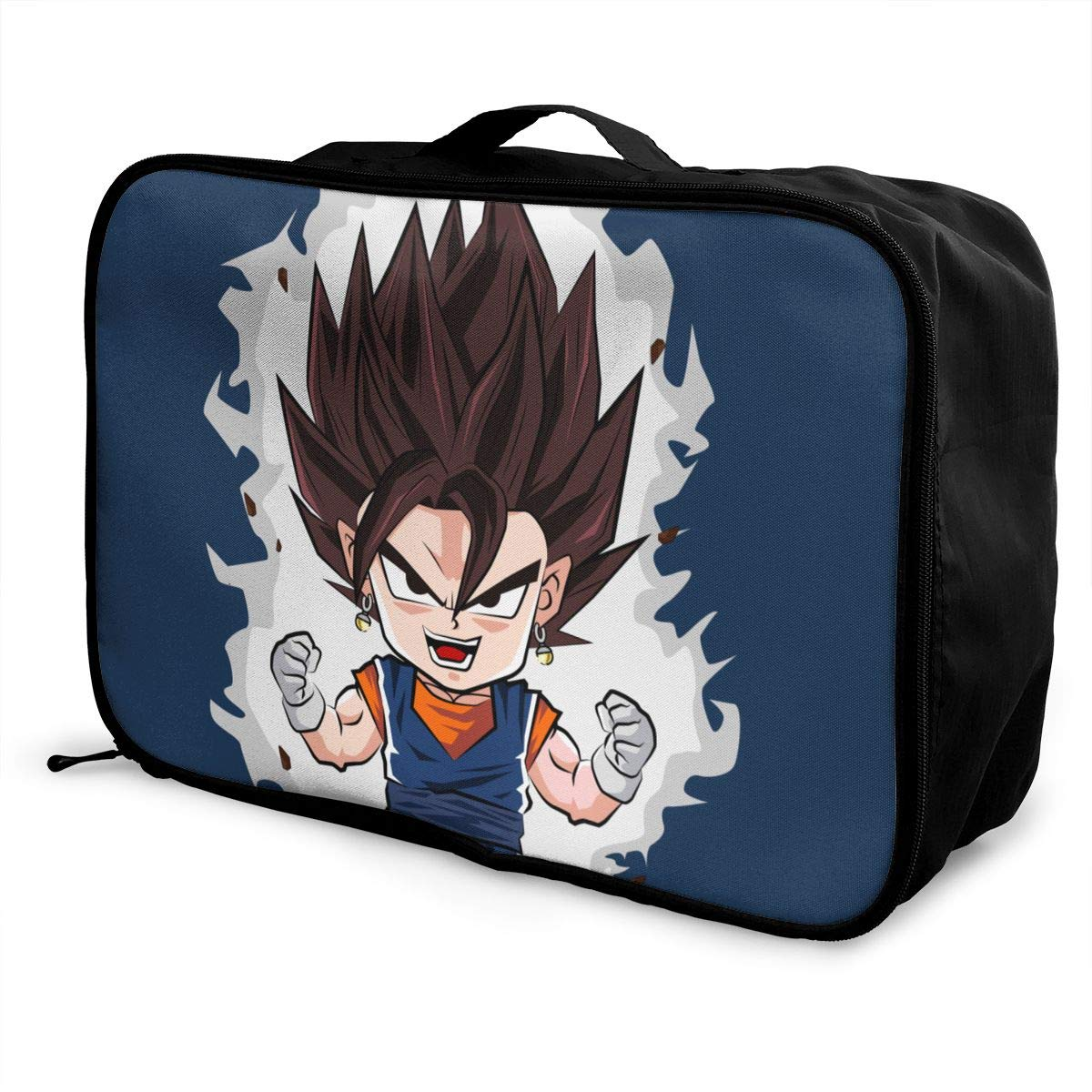 Anime Fans Dr-agon Ball Z Goku Customize Casual Portable Travel Bag Suitcase Storage Bag Luggage Packing Tote Bag Trolley Bag