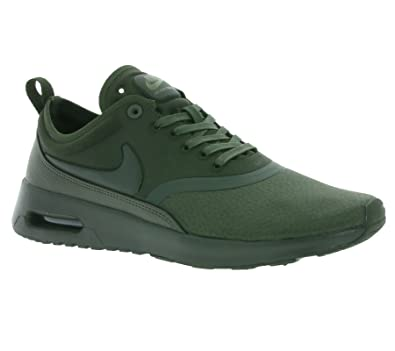 buy popular 2e476 9c633 Image Unavailable. Image not available for. Color  NIKE WMNS Air Max Thea  Ultra Premium Lifestyle Sneakers Women Sequoia Sequoia-Medium Olive