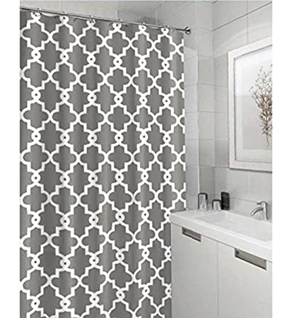 Awesome Geometric Patterned Waterproof 100% Polyester Fabric Shower Curtain For  Bathroom 72u0026quot; X 84u0026quot;