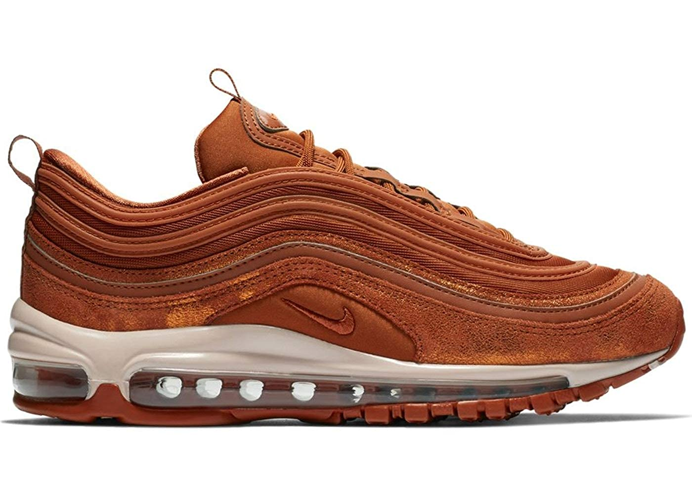 reputable site 36c15 bc651 Amazon.com | Nike Air Max 97 SE Dark Russet/Metallic Tawny ...